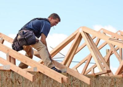 Setting Rafters
