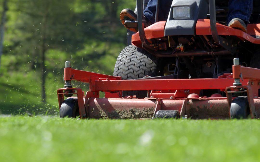 Sports Field Lawn Aeration