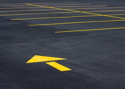 Parking Lot Line Striping Project